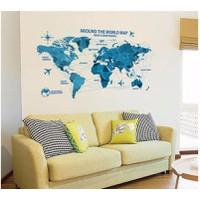Bản đồ thế giới chuyến bay