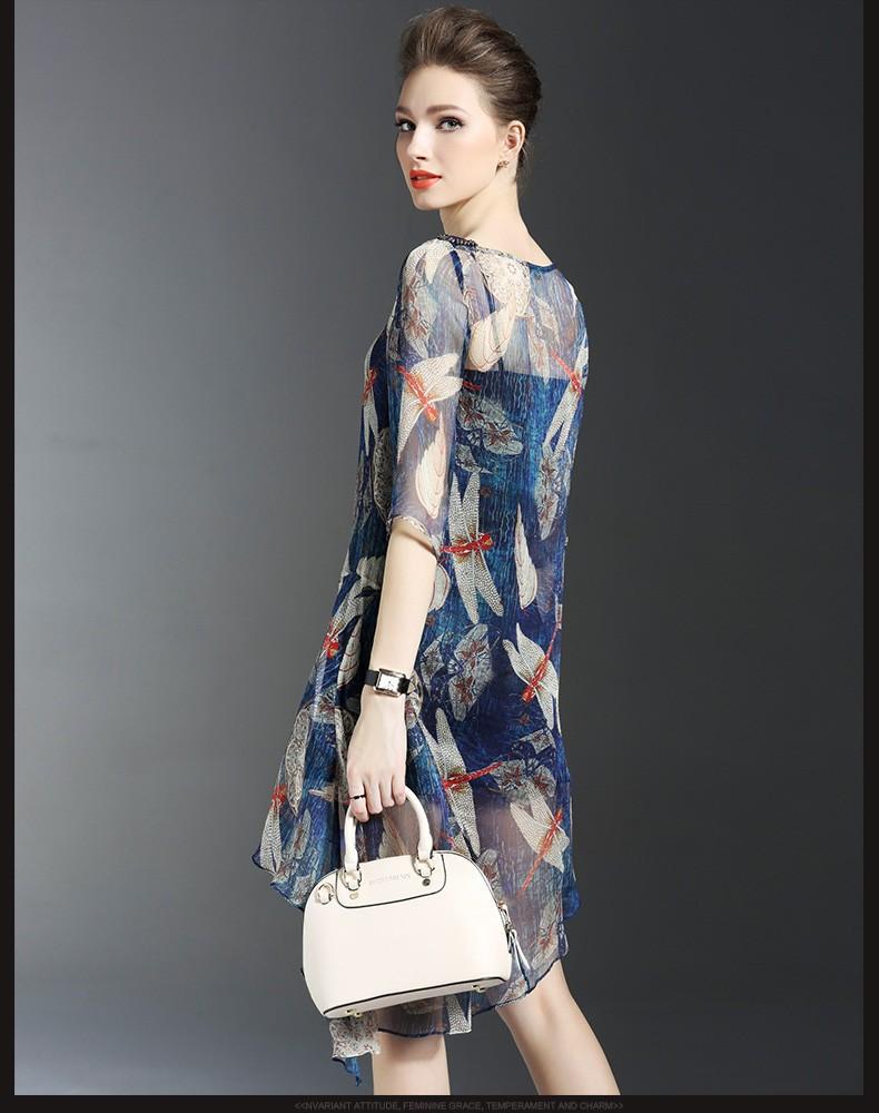 Đầm thời trang họa tiết chuồn chuồn - DV2570 3