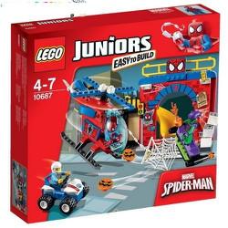 Đồ chơi xếp hình Lego Juniors 10687 hang ổ người nhện
