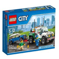 Đồ chơi Lego City Pickup Tow Truck 60081– Xe bán tải cứu hộ