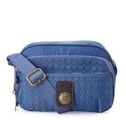 Túi đeo chéo Kipling thêu màu xanh