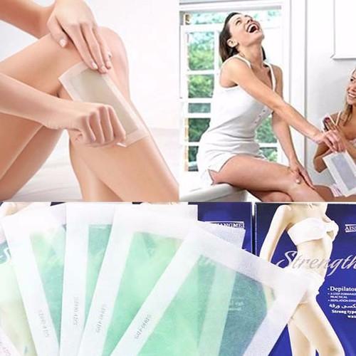 Hộp 10 miếng dán wax lạnh Depilatory cho tay, chân, body, bikini - 3962936 , 3412872 , 15_3412872 , 69000 , Hop-10-mieng-dan-wax-lanh-Depilatory-cho-tay-chan-body-bikini-15_3412872 , sendo.vn , Hộp 10 miếng dán wax lạnh Depilatory cho tay, chân, body, bikini