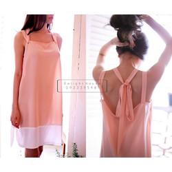 Đầm ngủ thiết kế chất liệu châu tôn cao cấp