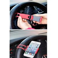Giá kẹp điện thoại trên vô lăng ô tô 01TI5
