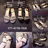 HÀNG NHẬP CAO CẤP - giày cao gót đinh tán sang trọng