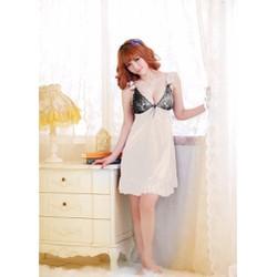 Đầm ngủ phi thun nhiều màu quyến rũ 050