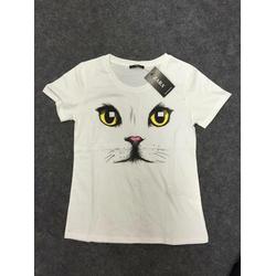 Áo thun mặt mèo
