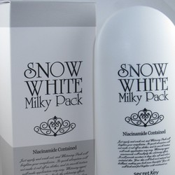 Kem tắm trắng mặt và toàn thân body Snow White Milky Pack