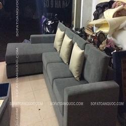 Ghế sofa vải mã 03, sofa nỉ phòng khách Hà Nội