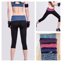 TT 18 - Quần lửng thể thao nữ tập Gym Yoga Aerobic