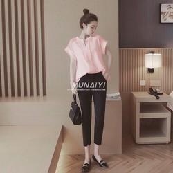 HÀNG NHẬP CAO CẤP - Sét áo sơ mi + quần baggy