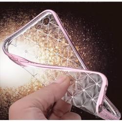 Ốp lưng iPhone 5-5s-se dẻo mẩu AM đính đá - Màu vàng gold