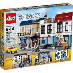 Đồ chơi Lego Creator 31026 mô hình Quán Cà Phê và Cửa Hàng Xe Đạp