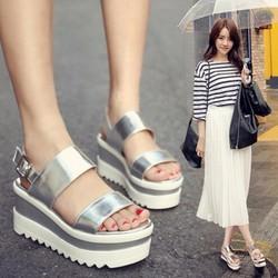 Giày Sandal đế cao đơn giản cá tính