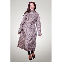 Áo mưa măng tô nữ vải dù siêu nhẹ