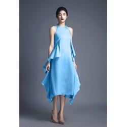 Đầm Lụa Thiết Kế Mới Lạ, Phong Cách XD208