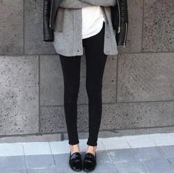 Quần Jeans Topshop đen không rách