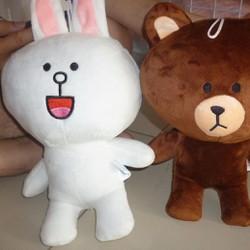 Gấu bông Thỏ Cony nhồi bông 30cm