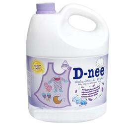 Nước giặt quần áo em bé D-Nee 3000ml tím