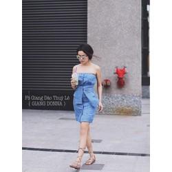 Đầm ống body sọc_charm shop