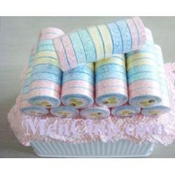 10 khăn nén mollis du lịch - 28*42cm