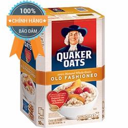 Yến mạch Quaker Oats Cán Dẹt Của Mỹ Thùng 4,5kg