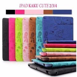 Bao da iPad 2-3-4 hiệu Kaku mẫu Kute