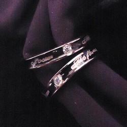 Nhẫn đôi inox tình nhân giá rẻ NC153