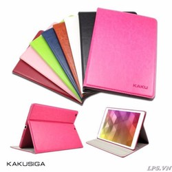 Bao da iPad Air hiệu Kaku mẫu Da dạng nhét