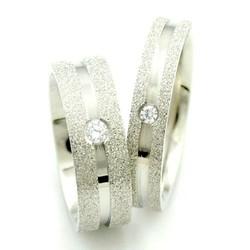 Nhẫn đôi tình nhân inox giá rẻ khắc tên NC150