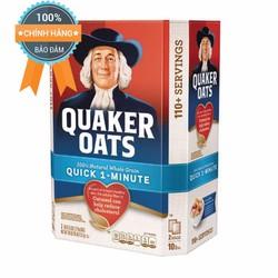Yến Mạch Quaker Oats Cán Vỡ Của Mỹ Thùng 4.5kg