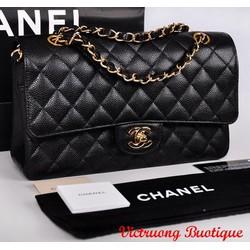 Túi Chanel Clasic da hột Fake 1