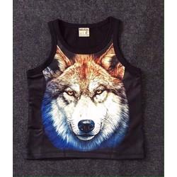 Size đại - Áo thun 3 lỗ chó sói
