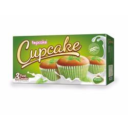 Bánh Cupcake Lá dứa hộp 75g