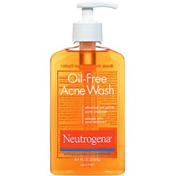 Sữa rửa mặt trị mụn Neutrogena Oil Free Acne Wash 269ml USA