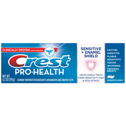 Lốc 4 Kem đánh răng Crest Pro Health Sensitive and Enamel Shield USA