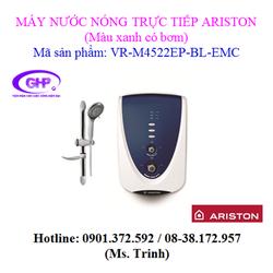 Máy nước nóng trực tiếp có bơm Ariston VR-M4522EP-BL-EMC