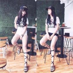 giày sandal nữ cột dây