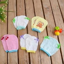 Bộ 10 đôi bao tay và bao chân cho bé sơ sinh Size 2
