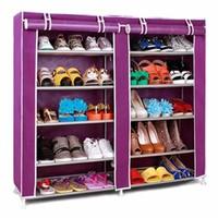 Tủ thép đựng giày gồm áo trùm chống bụi 5 tầng loại đại