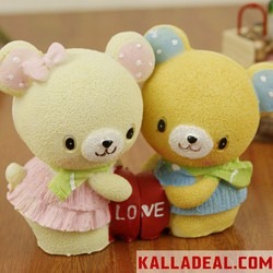 Couple tình nhân Teddy Bear