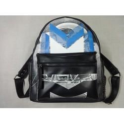Ba lô MCM Moonwalk Medium Backpack, Blue