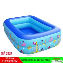Bể bơi hai tầng 115cmx85cmx35cm