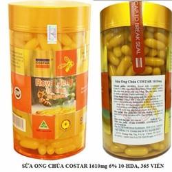 Sữa Ong Chúa Royal Jelly Costar 1610mg hộp 365 viên chính hãng từ Úc