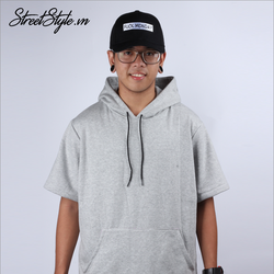 Áo hoodie tay ngắn Street Style