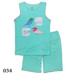 034 - Bộ bé gái Carters - Hello Friend -  Tinker Bell Kids