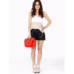 Quần short đen cạp chun thời trang giá rẻ TQ1139