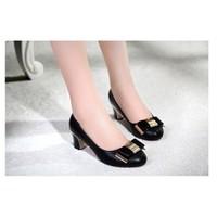 Giày gót vuông  Berry Dv2241