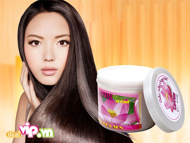 dầu hấp tóc hoa sen 5