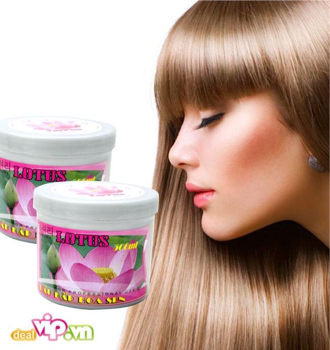 dầu hấp tóc hoa sen 4
